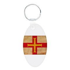Guernsey Flag Keychains