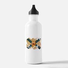 Nova Scotia Flag Water Bottle
