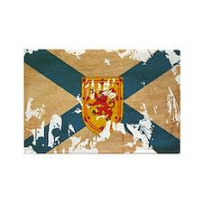 Nova Scotia Flag Rectangle Magnet