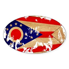 Ohio Flag Decal