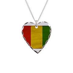 Guinea Flag Necklace