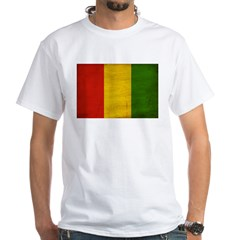 Guinea Flag White T-Shirt