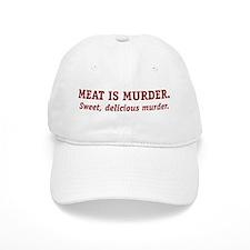 Meat is Murder. Baseball Cap