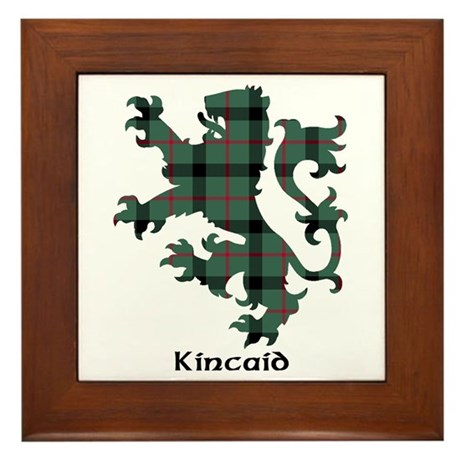 Lion - Kincaid Framed Tile