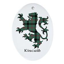 Lion - Kincaid Ornament (Oval)