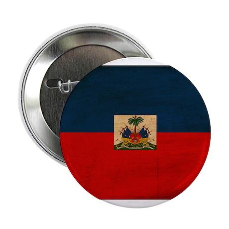 """Haiti Flag 2.25"""" Button"""