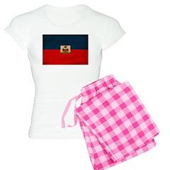 Haiti Flag Pajamas