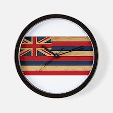 Hawaii Flag Wall Clock