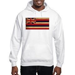 Hawaii Flag Hooded Sweatshirt