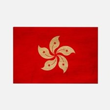 Hong Kong Flag Rectangle Magnet