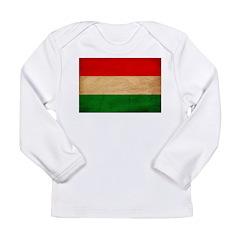 Hungary Flag Long Sleeve Infant T-Shirt