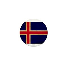 Iceland Flag Mini Button (10 pack)