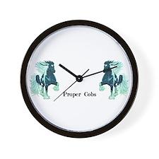 Proper Cobs Group Wall Clock