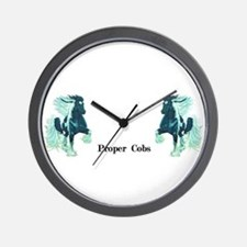Proper Cobs Group Wall Clock
