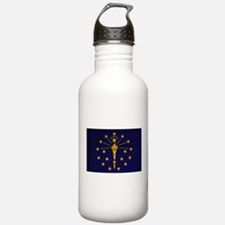 Indiana Flag Water Bottle