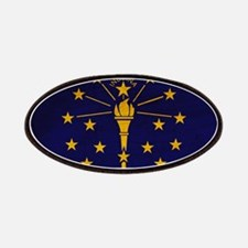 Indiana Flag Patches