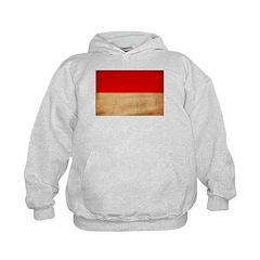 Indonesia Flag Hoodie