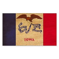 Iowa Flag Decal