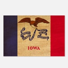Iowa Flag Postcards (Package of 8)