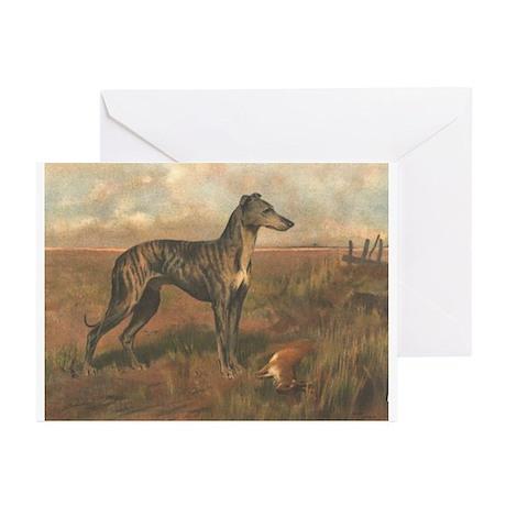 Wardle's #1 Greyhound Greeting Cards