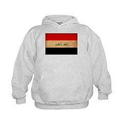 Iraq Flag Hoodie
