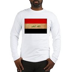 Iraq Flag Long Sleeve T-Shirt