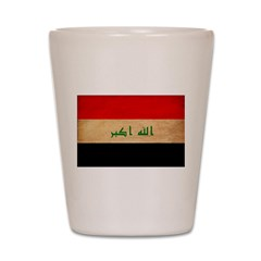 Iraq Flag Shot Glass