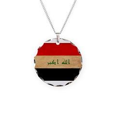Iraq Flag Necklace