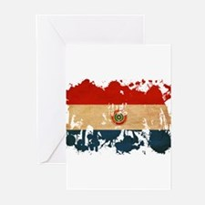 Paraguay Flag Greeting Cards (Pk of 20)