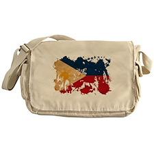 Philippines Flag Messenger Bag