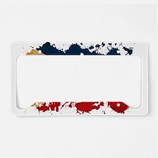 Philippines Flag License Plate Holder