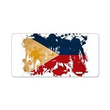 Philippines Flag Aluminum License Plate