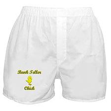 Bank Teller Chick Boxer Shorts