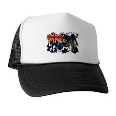 Pitcairn Islands Flag Trucker Hat