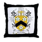 Van Putten Coat of Arms Throw Pillow