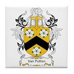 Van Putten Coat of Arms Tile Coaster