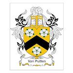 Van Putten Coat of Arms Small Poster