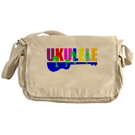 Hawaiian Ukulele Messenger Bag