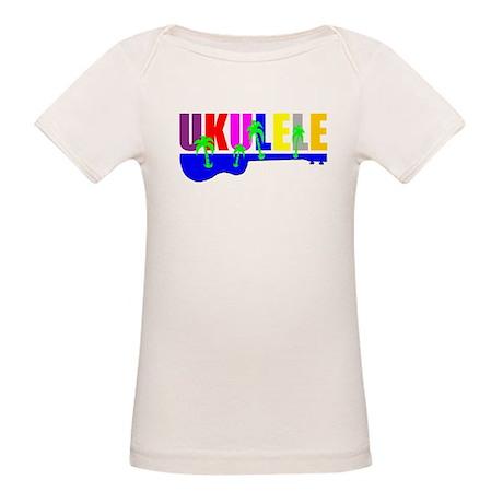 Hawaiian Ukulele Organic Baby T-Shirt