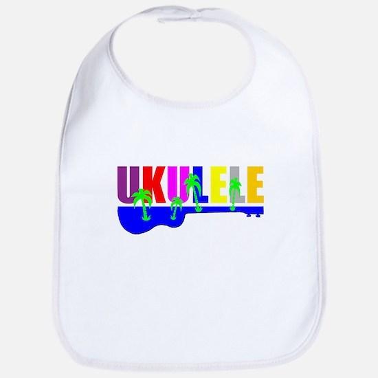 Hawaiian Ukulele Bib