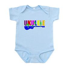 Hawaiian Ukulele Infant Bodysuit