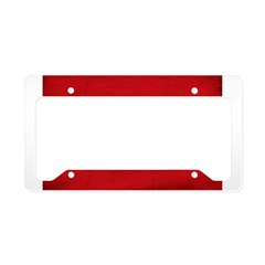 Isle of Man Flag License Plate Holder