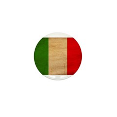 Italy Flag Mini Button (100 pack)