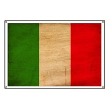 Italy Flag Banner