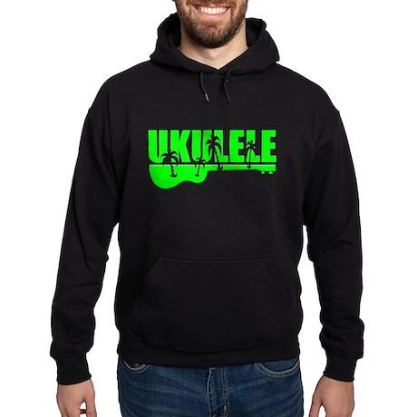 Hawaiian Ukulele Hoodie (dark)