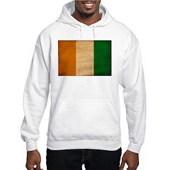 Ivory Coast Flag Hoodie