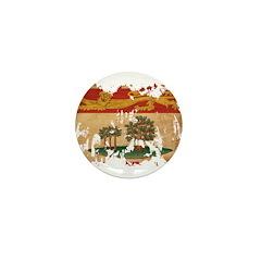 Prince Edward Islands Flag Mini Button (10 pack)