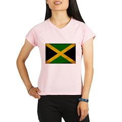 Jamaica Flag Performance Dry T-Shirt
