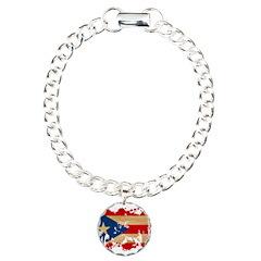 Puerto Rico Flag Bracelet