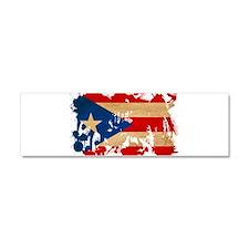 Puerto Rico Flag Car Magnet 10 x 3